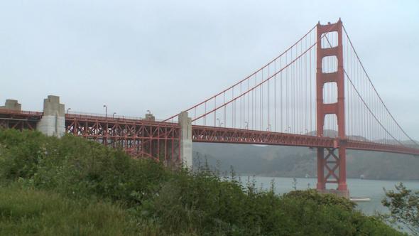 VideoHive Misty Golden Gate Bridge 6 Of 12 10421000