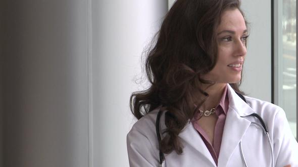 Female Doctor Mid 30's Happy 1 Of 3