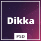 Dikka - Elegant Multi-Purpose PSD Template - ThemeForest Item for Sale