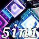 Cube Party (5-Pack) - VideoHive Item for Sale