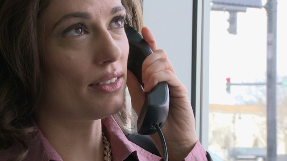 Businesswoman On Phone Call 1 Of 4 2