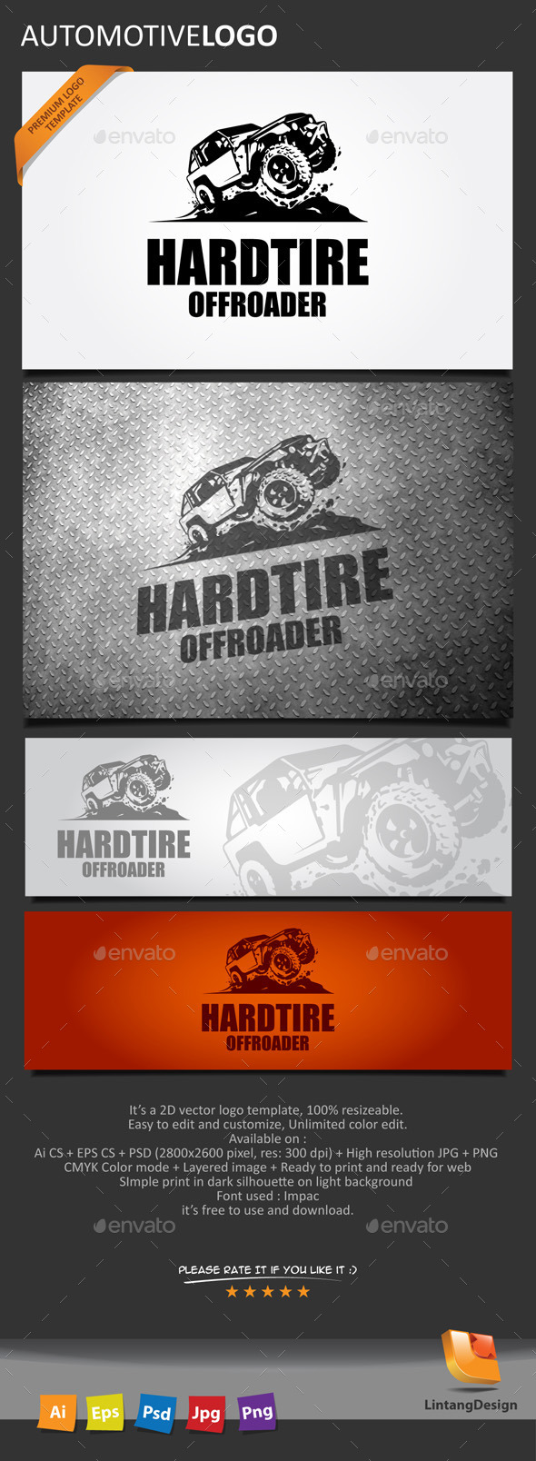 GraphicRiver Automotive Logo 10421857
