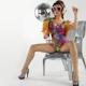 Gogo Dancing Burlesuqe Disco Girl 5