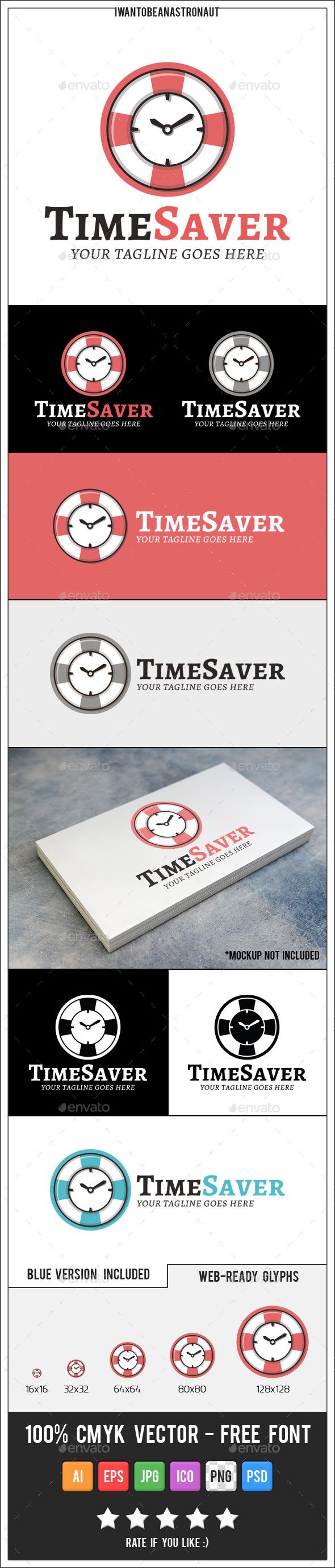 GraphicRiver Time Saver Logo 10422445