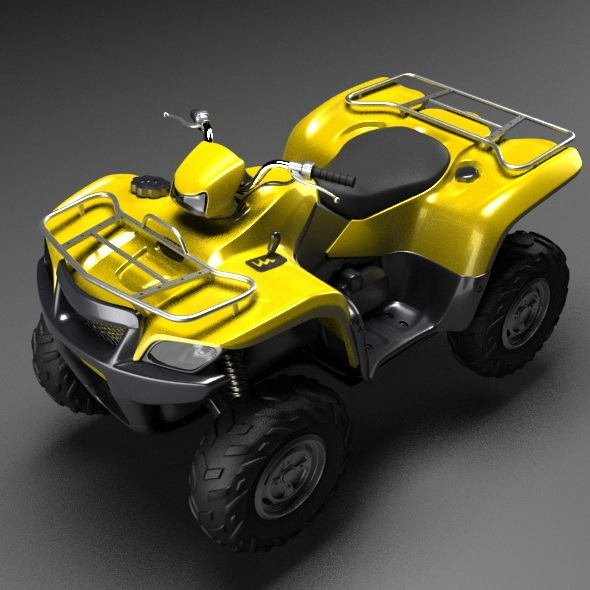 3DOcean Generic quad bike 10422840