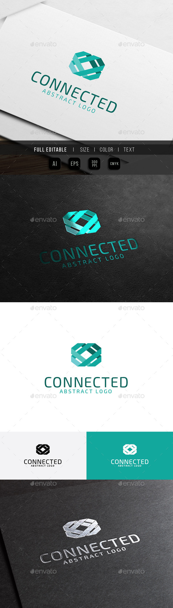 GraphicRiver Abstract Connect Link Technology 10423181