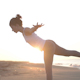 Yoga Beach Sunrise Peaceful Energy Healthy Lifestyle 14 - VideoHive Item for Sale