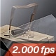 Glass Gets Destroyed By A Mousetrap 1 - VideoHive Item for Sale