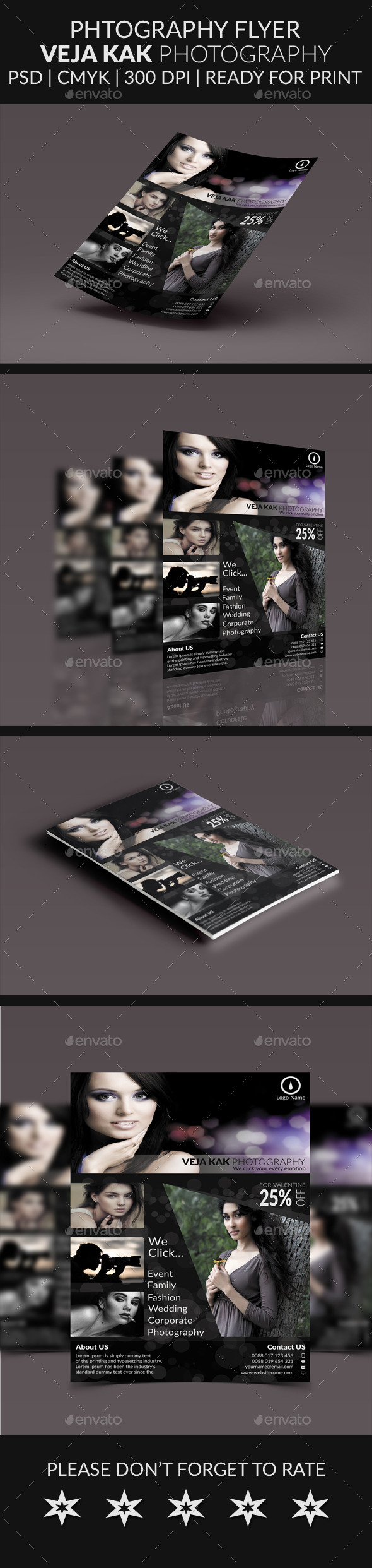 GraphicRiver Photography Flyer 10423707