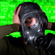 Person Wearing Gasmask 24 - VideoHive Item for Sale