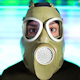Person Wearing Gasmask 31 - VideoHive Item for Sale