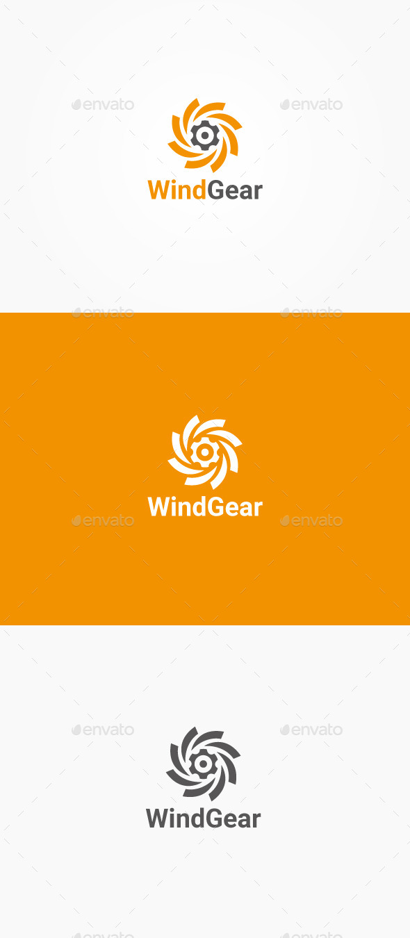 GraphicRiver Wind Gear 10424307