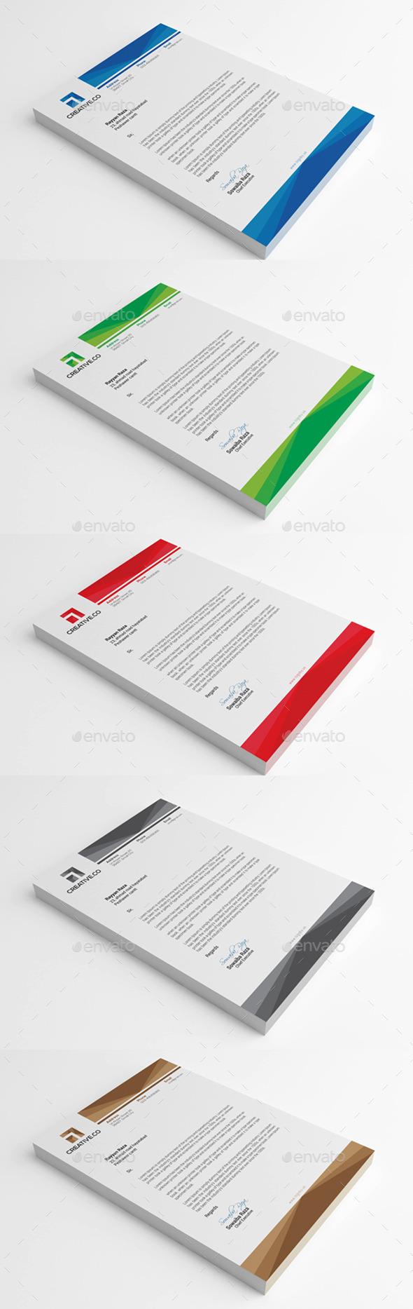 GraphicRiver Corporate Letterhead 8634136