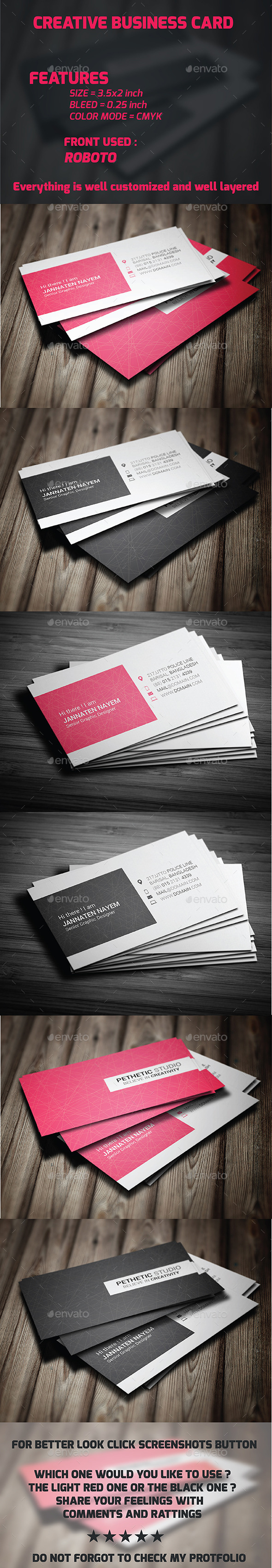 GraphicRiver Creative Business Card 10424448