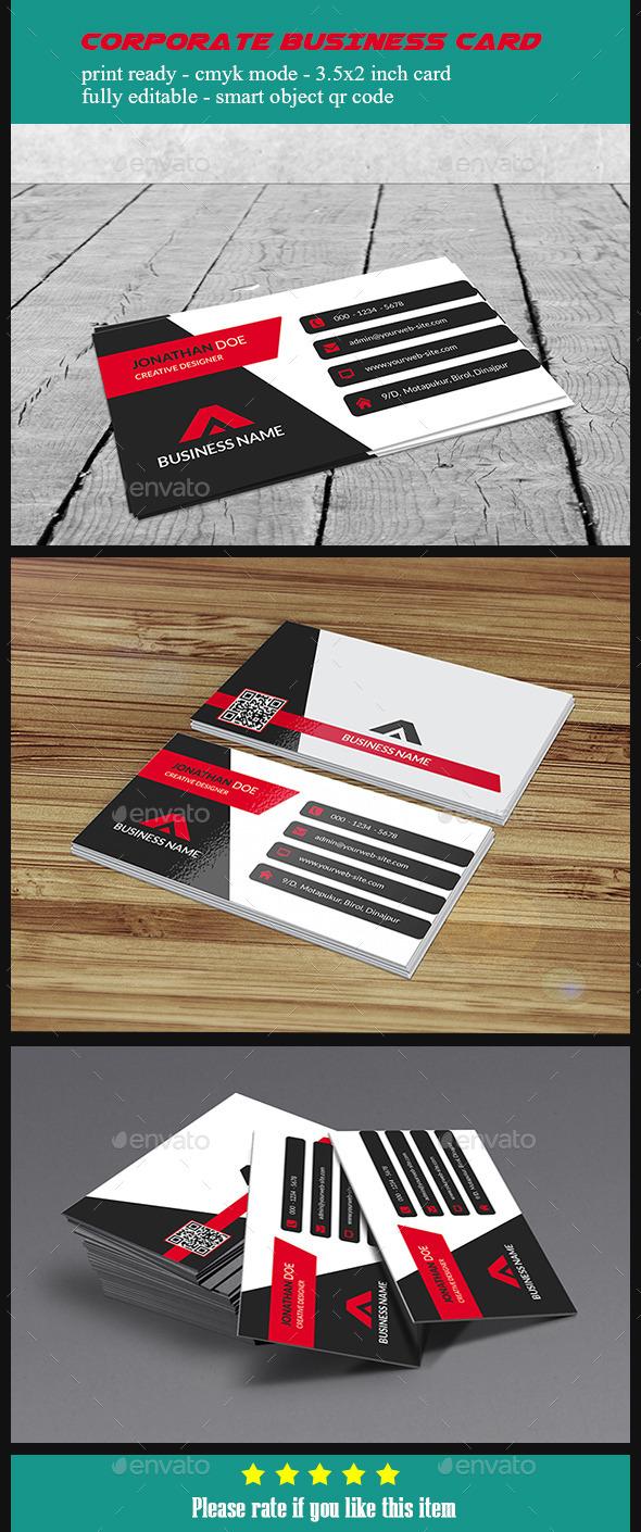 GraphicRiver Corporate Business Card V5 10424494