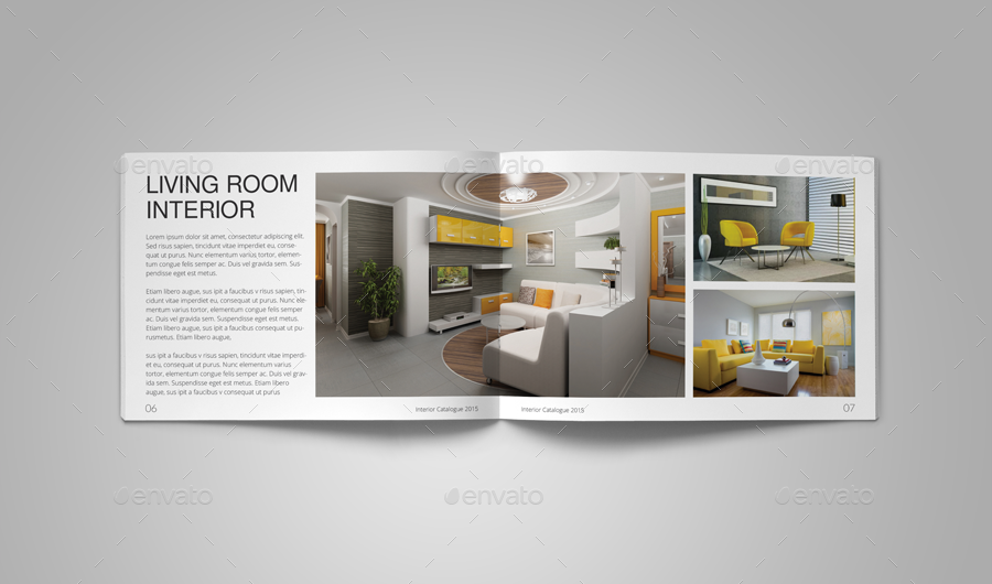 interior catalog template by habageud