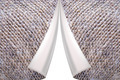 lapels on the grey texture of fabric with sacking - PhotoDune Item for Sale