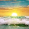 Fantastic sunrise on the ocean - PhotoDune Item for Sale