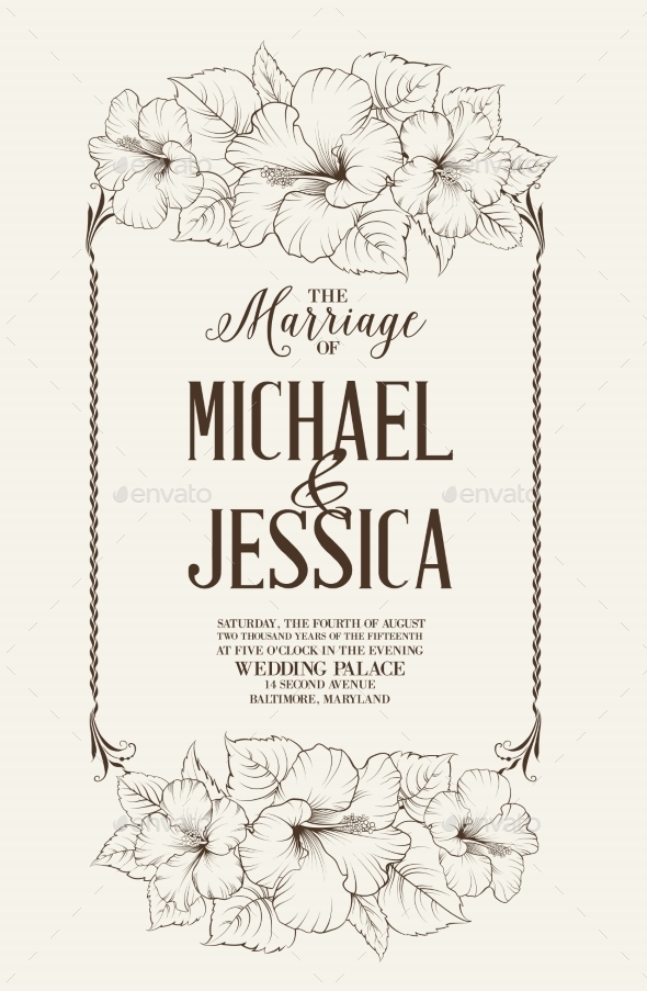GraphicRiver Marriage Design Template 10425755