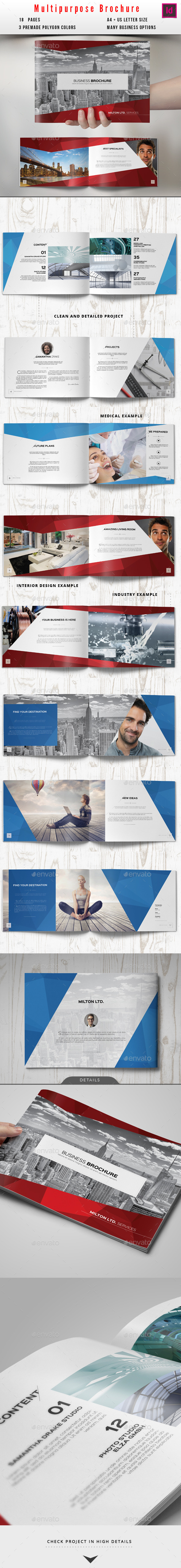 GraphicRiver Multipurpose Business Catalog Brochure 10425787