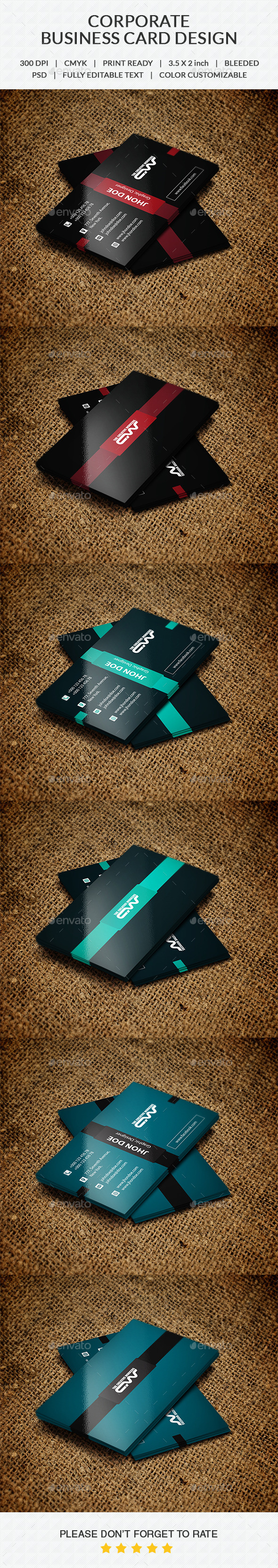 GraphicRiver Business Card 10365325