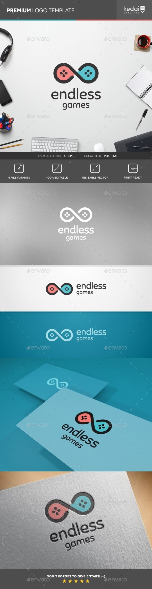 GraphicRiver Endless Games 10397907