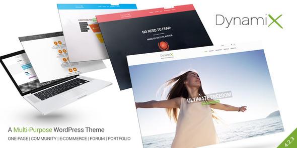 DynamiX - Business / Corporate Wordpress Theme - BuddyPress WordPress
