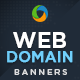 Domain Registration Banners - GraphicRiver Item for Sale