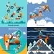 Extreme Sports Set - GraphicRiver Item for Sale