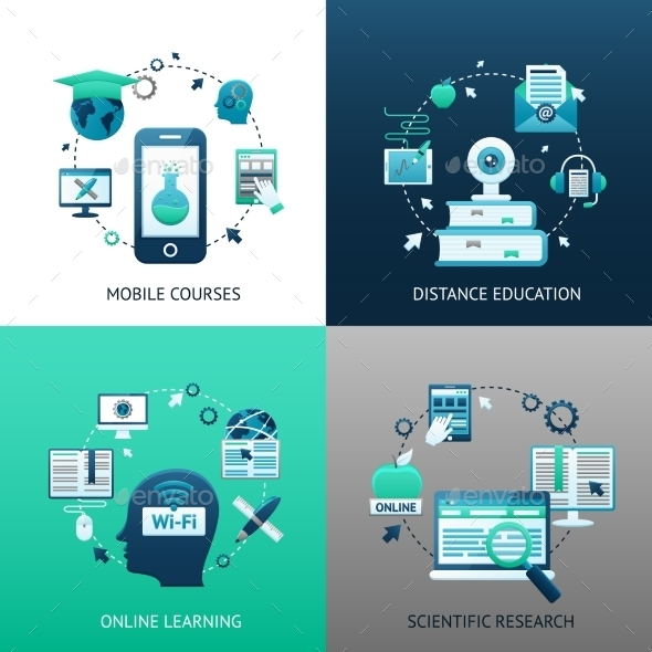 GraphicRiver Online Education Design Concept 10425986