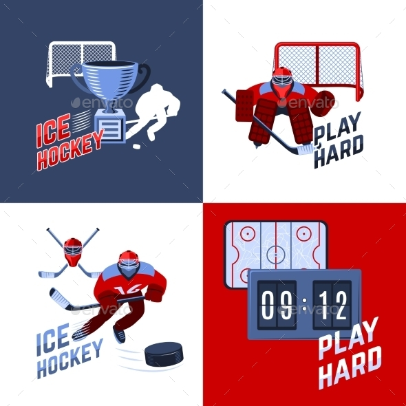 GraphicRiver Hockey Design Concept 10426190