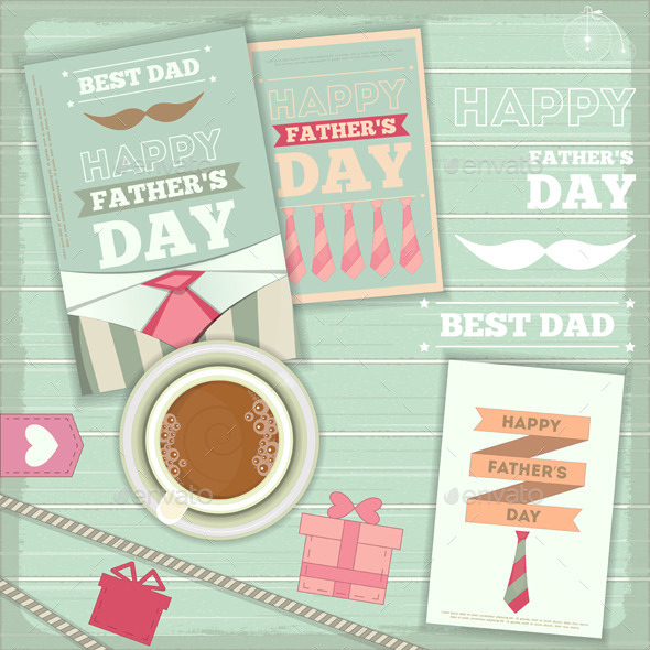 GraphicRiver Fathers Day 10426274