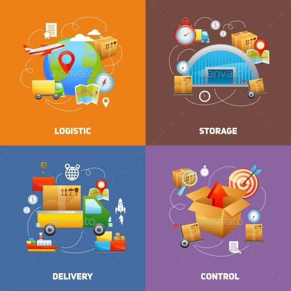 GraphicRiver Logistics Design Concept 10426365