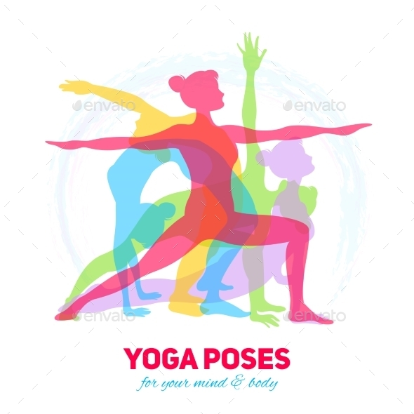 GraphicRiver Yoga Fitness Concept 10426384