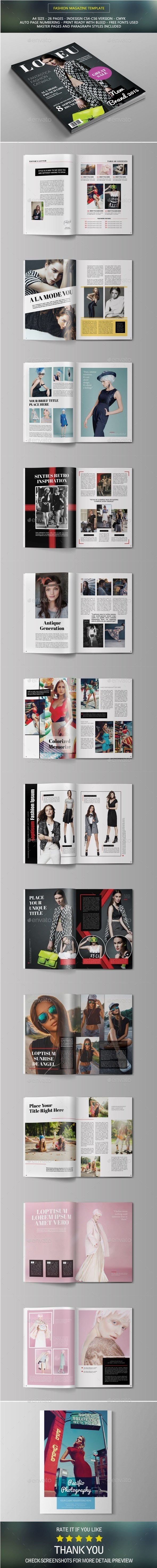 GraphicRiver Fashion Magazine 10426455
