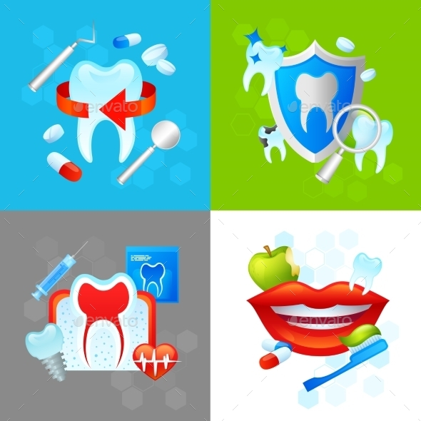 GraphicRiver Dental Design Concept 10426456