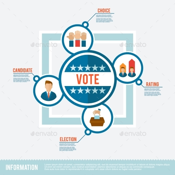 GraphicRiver Election Flat Concept 10426580