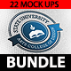 Logo Mock Up Bundle - GraphicRiver Item for Sale