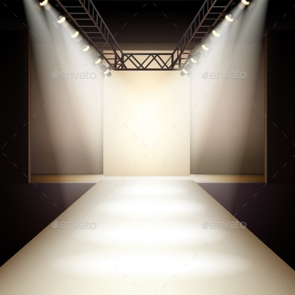 GraphicRiver Fashion Runway Background 10426914