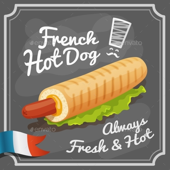 GraphicRiver French Hot Dog Poster 10427220