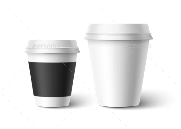 GraphicRiver Cups of Coffee Vector 10427243