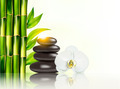 Spa background with bamboo and stones. - PhotoDune Item for Sale