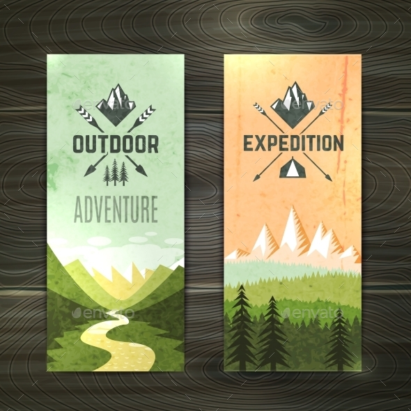 GraphicRiver Tourism Vertical Banners Set 10427257