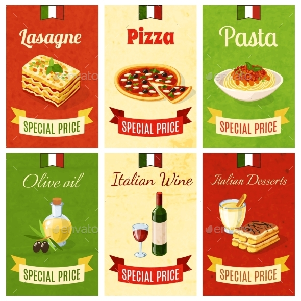 GraphicRiver Italian Food Mini Poster 10427282