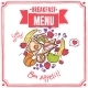 Breakfast Sketch Menu - GraphicRiver Item for Sale