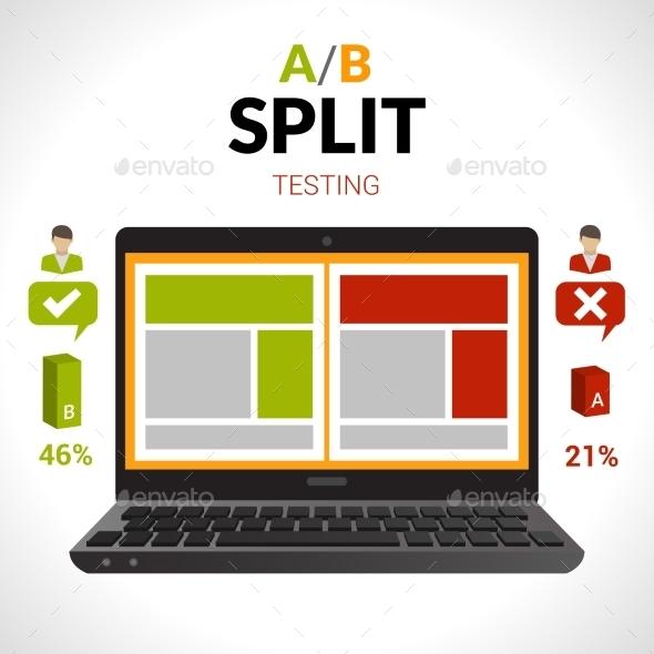 GraphicRiver Split Testing Concept 10427483