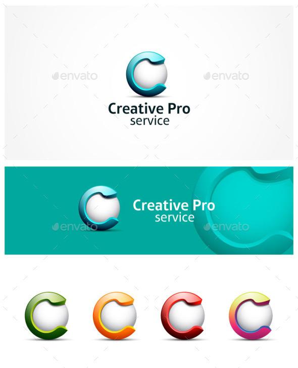 GraphicRiver C Letter Logo 10427715
