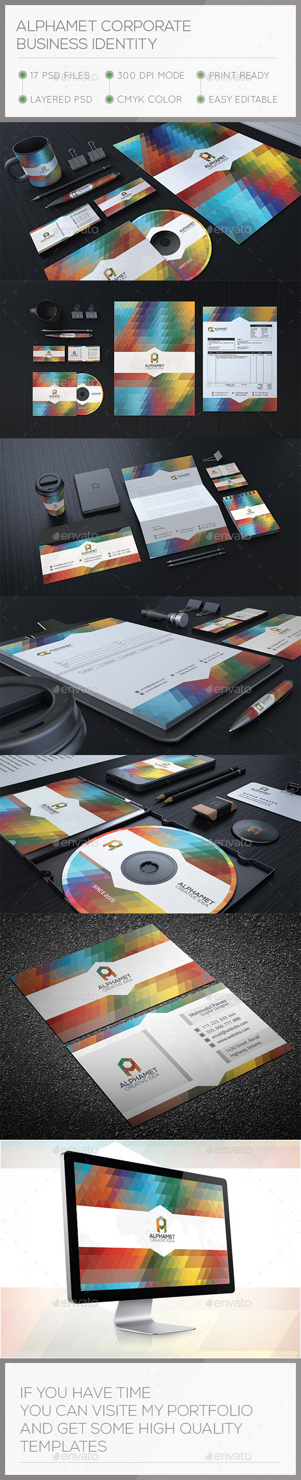 GraphicRiver Alphamet Corporate Stationary Identity 10427731