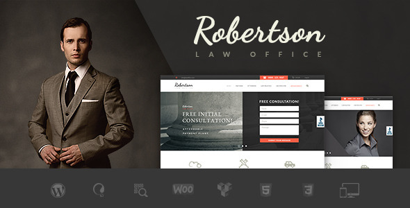 ThemeForest Law Office Lawyers Attorneys Legal Office Theme 10427854