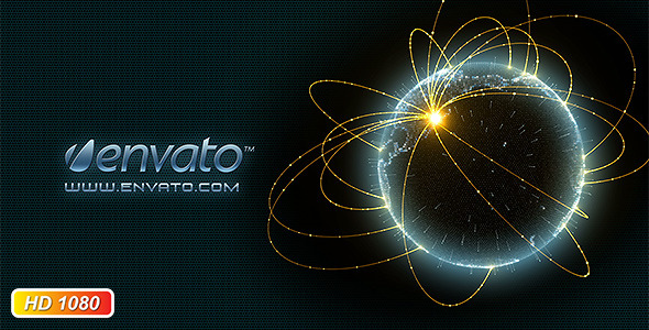 After Effects Project - VideoHive Network Globe Logo Opener 1051132
